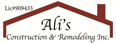 Ali's Construction Logo